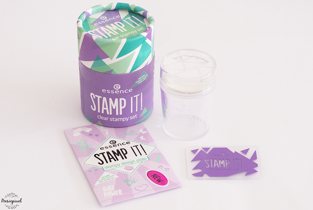 Essence - stamp it! clear stampy set