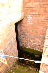 Bomb Shelter now flooded.