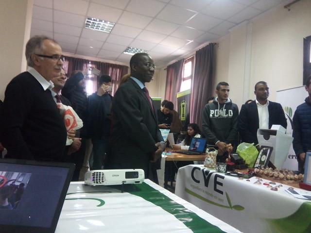 Monsieur Brahima Sanou à l'ESI