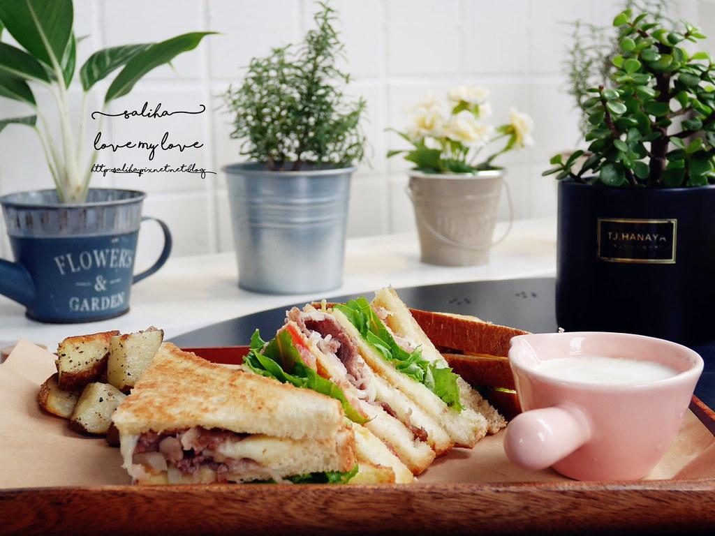 新店大坪林附近餐廳推薦再來咖啡好吃早午餐輕食蛋糕 (3)