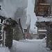 Image d'hiver en Savoie.