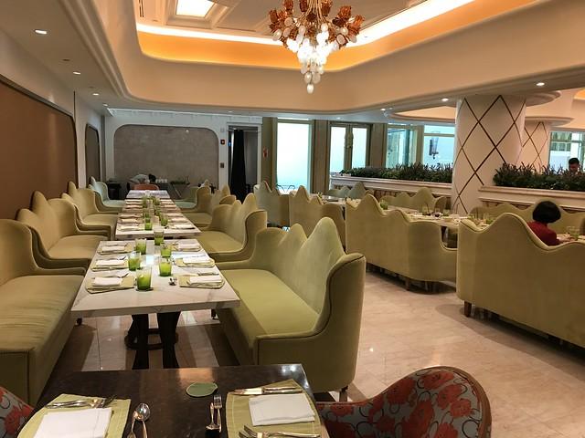 Medley Buffet restaurant,  dining area