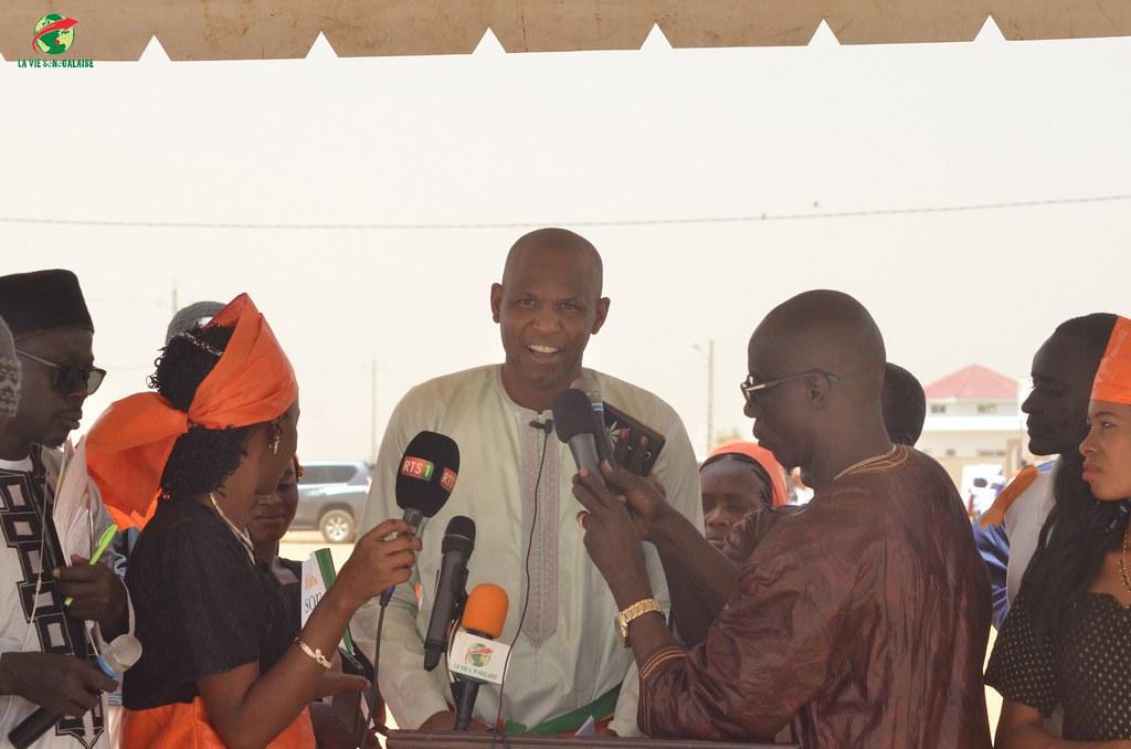 Inauguration d'infrastructures  de base à Mbakhna Par la Fondation SONATEL (51)