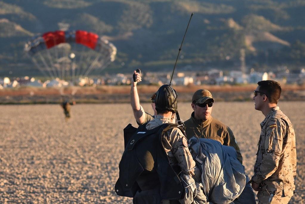 Ejercicio entre el EA y la USAF