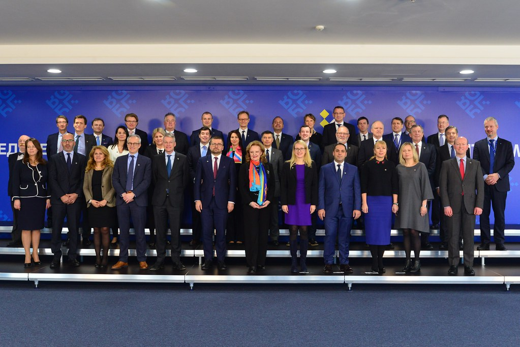 Informal Meeting of Ministers Responsible for Competitiveness (Industry): Family photo and Press conference