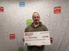 Kevin Brew - $18,289 - Idaho Jackpot - Twin Falls - Oasis