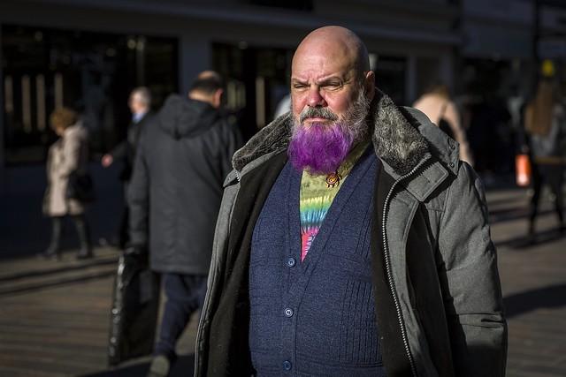 A Purple Beard
