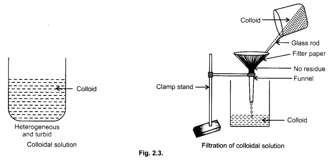 cbse class 9 science practical skills  u2013 solution  colloids
