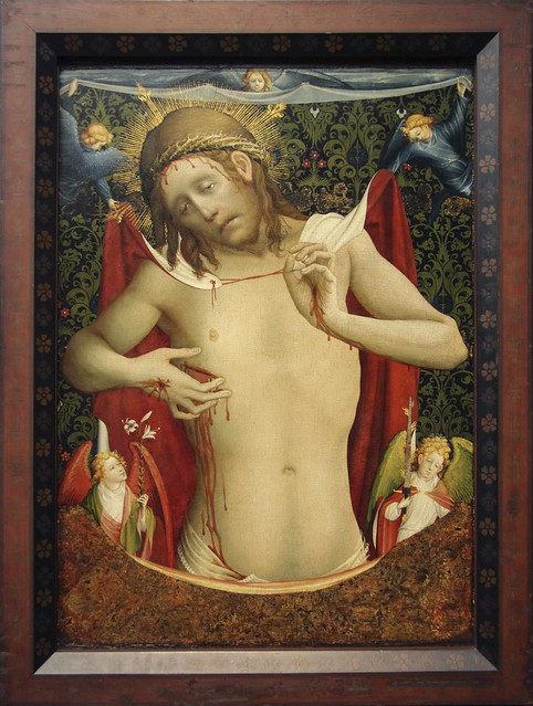 Christ as the Man of Sorrows, 1435, known as Meister Francke