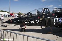ZJ646 46 - 0155 - Royal Air Force QinetiQ - Dassault-Dornier Alpha Jet A - Waddington - 100704 - Steven Gray - IMG_6337