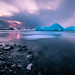 Sunset at the Glacier Lagoon - Iceland - Seascape photography by Giuseppe Milo (www.pixael.com)