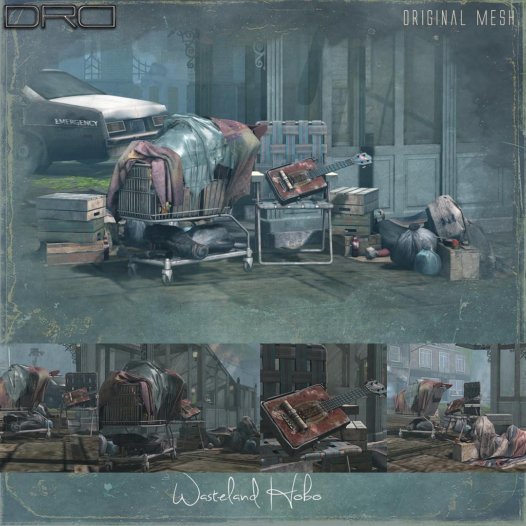 DRD Wasteland Hobo - TeleportHub.com Live!
