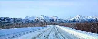 Winter travel - Alaska