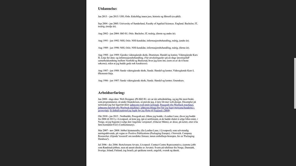 cv side 2