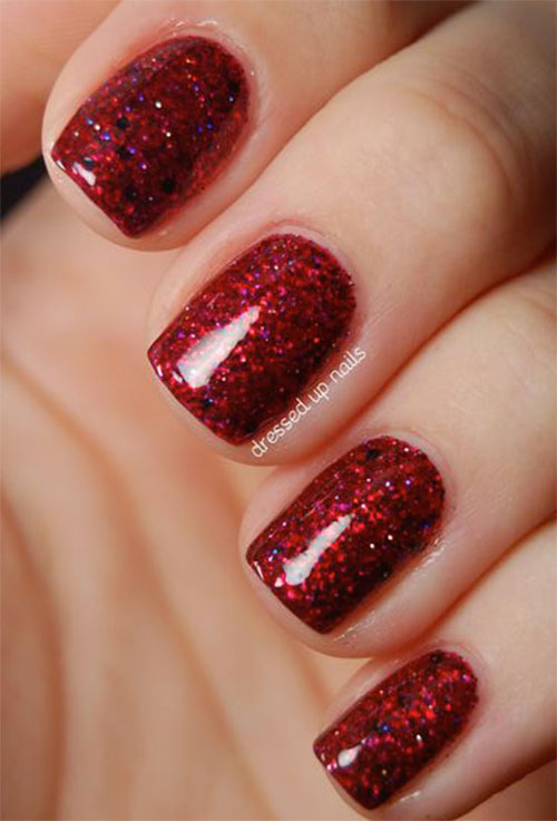 New 20 Black And Red Gel Nail Art Collection Fashionre