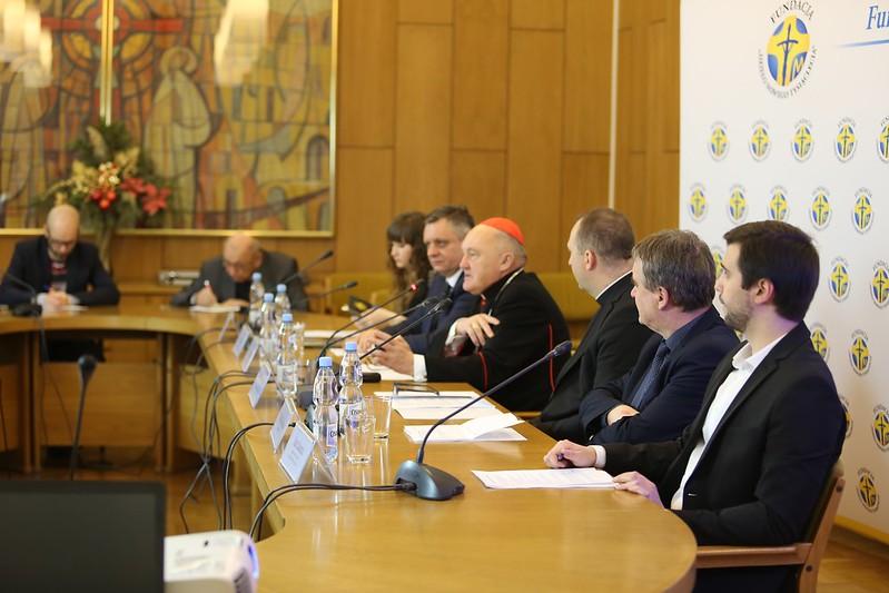 Konferencja prasowa Fundacji Dzieło Nowego Tysiąclecia, Warszawa, 10 I 2018