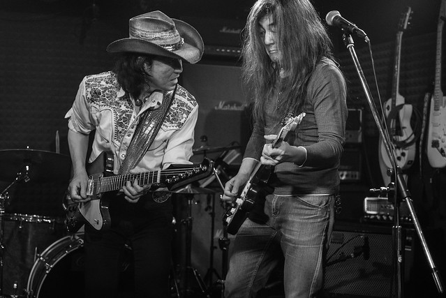 鈴木Johnny隆バンド with O.E. Gallagher session at Crawdaddy Club, Tokyo, 20 Jan 2018 -00559
