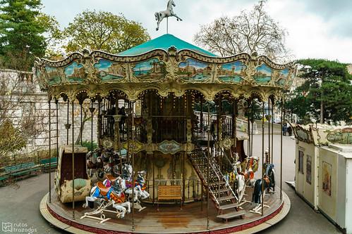 Carrusel Escalera Montmartre
