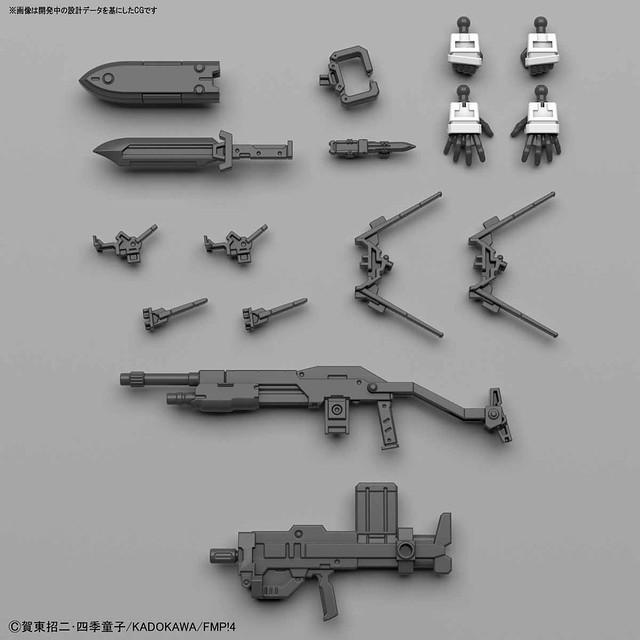 BANDAI《驚爆危機IV》ARX-7 強弩兵(アーバレスト) Ver.IV 1/60比例組裝模型