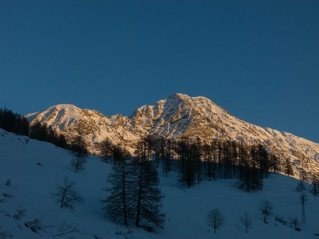Cima Bosco in notturna (Val di Susa) - 27/01/18