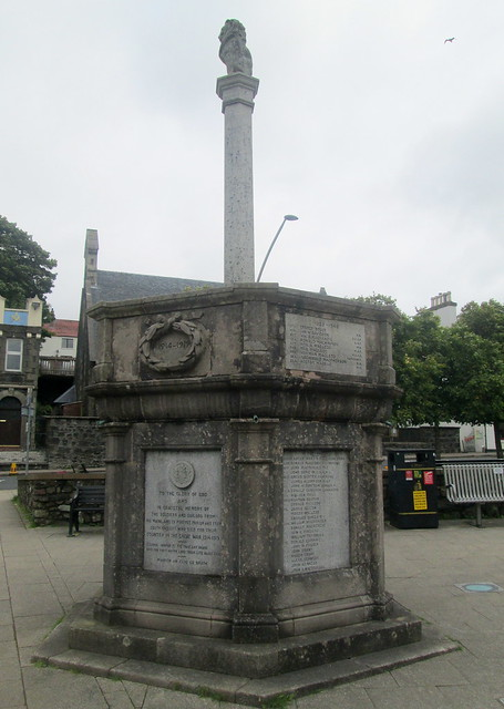 Portree War Memorial 3