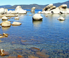 Pure Water, Lake Tahoe, Sand Harbor, NV 2010