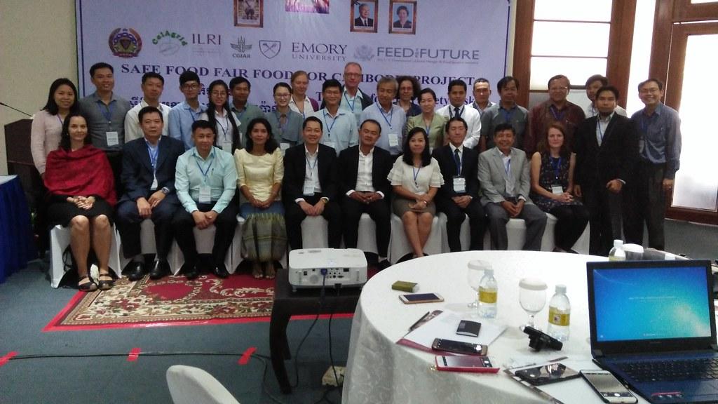 Stakeholder workshop of Safe Food, Fair Food for Cambodia project, 14-15 December 2017 in Phnom Penh