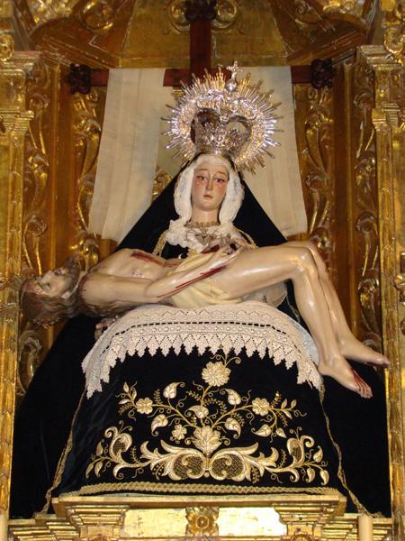 Antigua, Venerable, Fervorosa Hermandad y Cofradía de Nazarenos de Nuestra Señora y Madre de la Quinta Angustia.