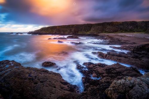 portknockie longexposure coastline landscape sunset waves scotland water leefilters seascape morayfirth canon findochty rocks clouds unitedkingdom gb