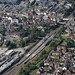Biggleswade Railway Station aerial