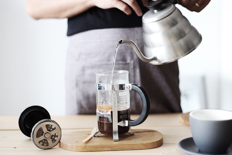 Bình French press