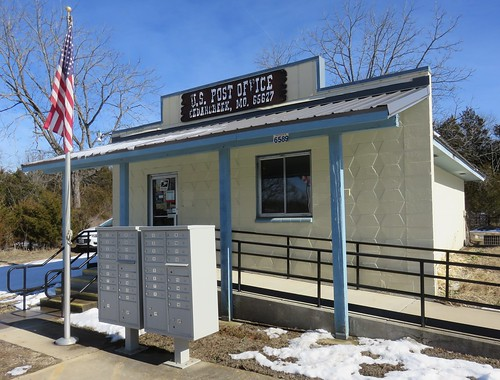 Post Office 65627 (Cedarcreek, Missouri)