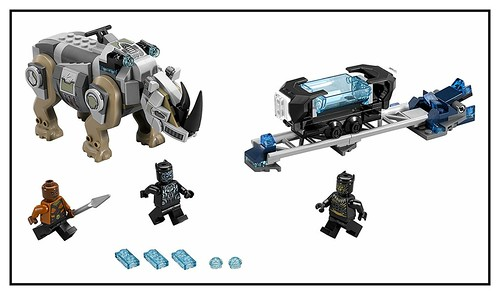 LEGO Marvel Super Heroes Black Panther 76099 & 76100 0-76099