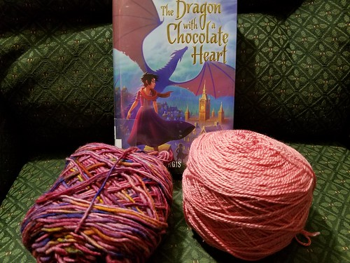 Current Reading and Next Knitting