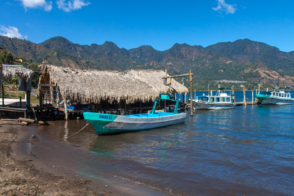 Guatemala. Lake Atitlan