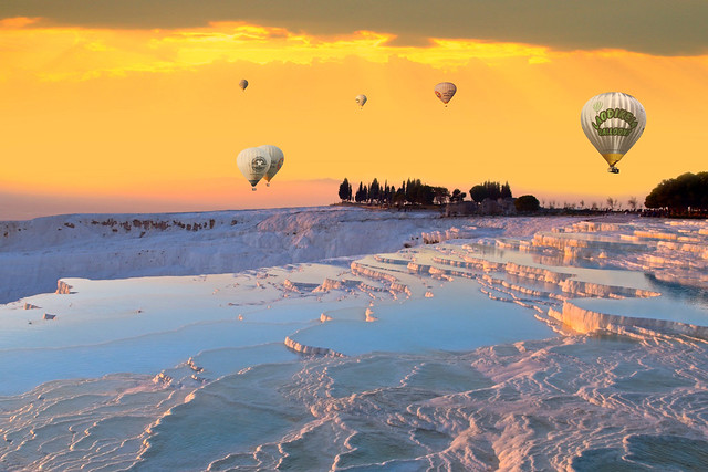 Pamukkale ( Cotton Castle)