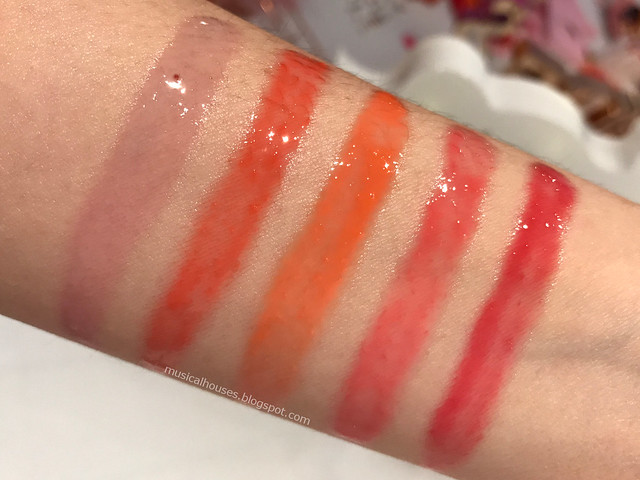 Etude House Cherry Moisture Lip Glow Review Swatches