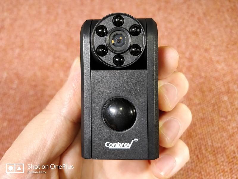 Conbrov 小型カメラ 赤外線センサー レビュー (24)