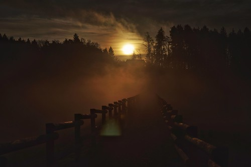 sunrise sun morning fog foggy mist landscape outdoor nature firstlightoftheday sonyilca99m2 cz2470