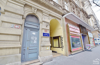 Friends Hostel Budapest Hungary (best hostel in Budapest) - Entrance to building