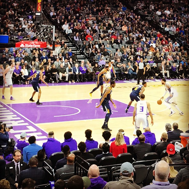 2018 Kings versus Jazz