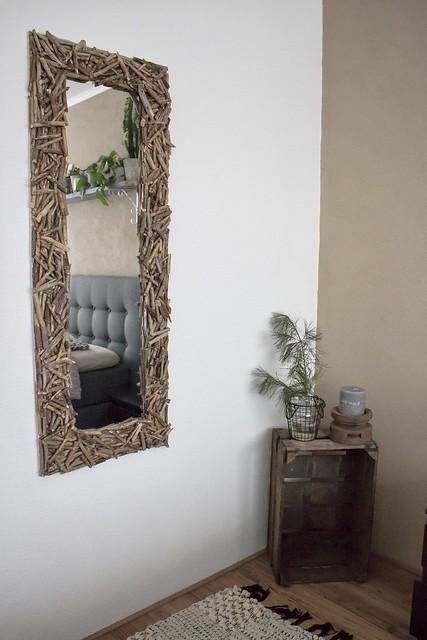 Spiegel lijst van sprokkelhout