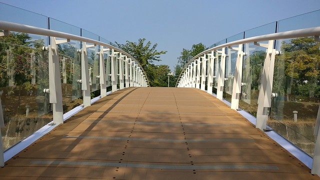 Footbridge over Love River, Kaohsiung