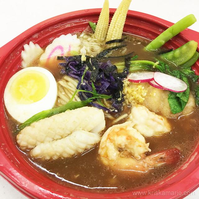 Seafood Ramen at Umami