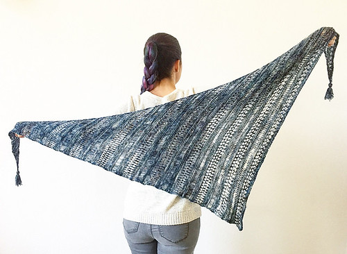 Stormy Sky Shawl by Life is Cozy