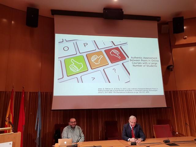 """Conferencia """"MOOCs y evaluación entre pares"""""""