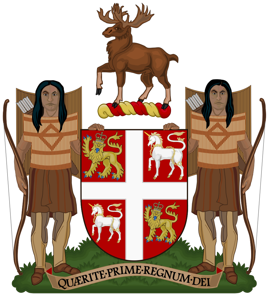 Newfoundland and Labrador provincial coat of arms
