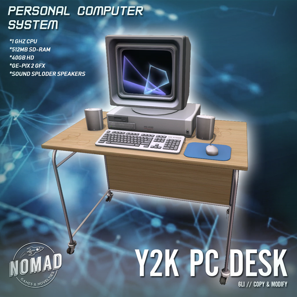 NOMAD // Y2K PC Desk