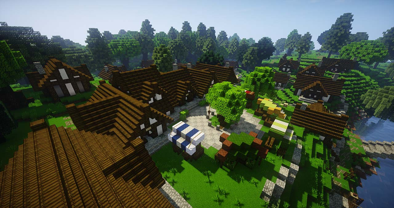 Minecraft Players Have Been Creating The Lord Of The Rings