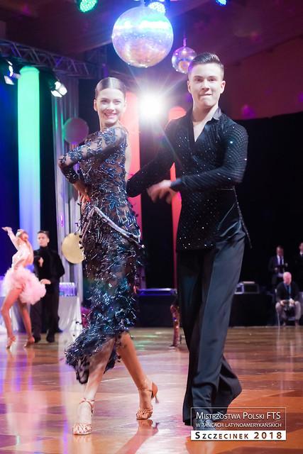Taneczny sukces Natalii Kozioł i jej partnera Jędrzeja Bartkowskiego